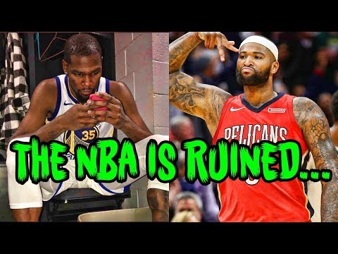 DeMarcus Cousins And The Warriors Just RUINED The NBA