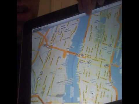 Présentation Apple iPad facon Chatroulette