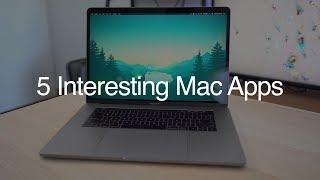 5 Interesting Mac Apps  - June 2018