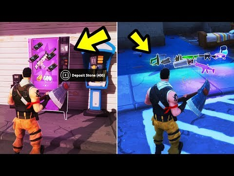Fortnite - What if you Destroy a Vending Machine?