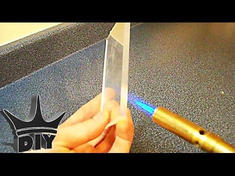 HOW TO: Flame polishing acrylic
