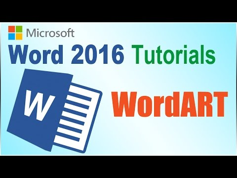 WordArt in Word 2016 - Quick & Fast Tips