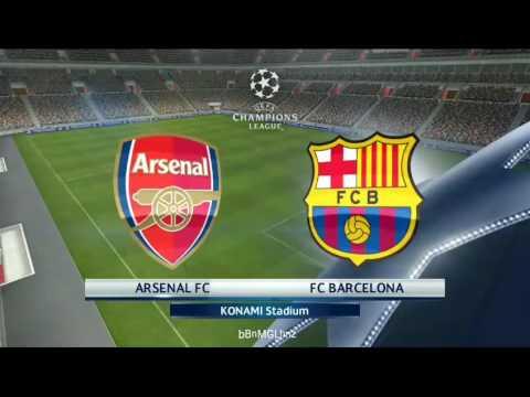 PES 2017 (Android) - Gameplay - Arsenal vs Barcelona (17/05/17)