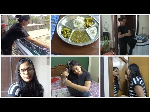 Indian Housewife daily responsibilities || morning to afternoon routine || lunch routine 2018.