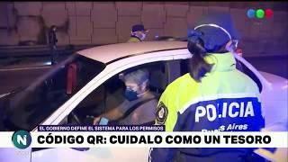CÓDIGO QR: el requisito para circular por CABA y Provincia de Buenos Aires - Telefe Noticias