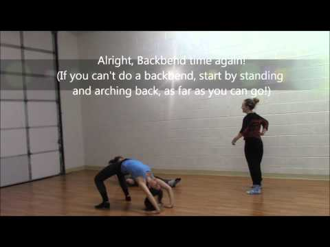 How to stretch out your back and improve your back flexibility
