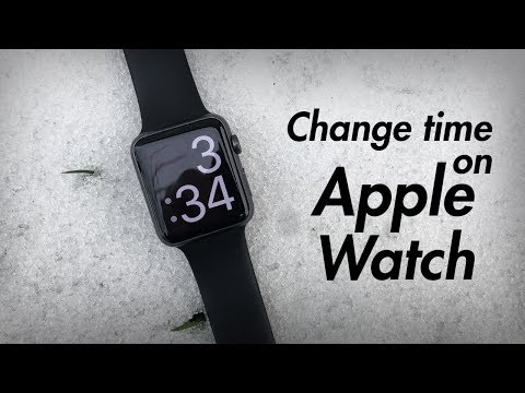 How to Change Time on Apple Watch - Set Time