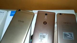 Vivo v5 ,Gionee S6s & Oppo F1s Compression and which Phone gives Batter Performance