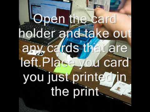 How to print Dual Sided on a Single sided ID Card Printer