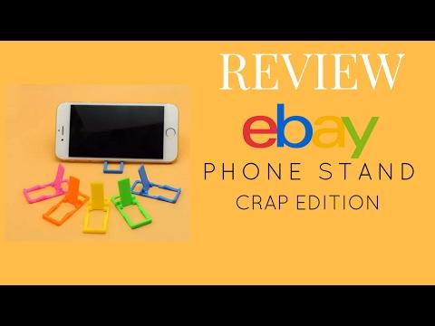 New 6*pcs Plastic Foldable Mini Cell Phone Desktop Stand Mount Smartphone Holder: EBAY Review