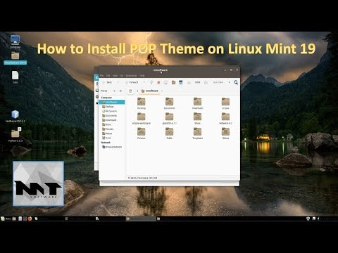 How To Install Pop Theme on Linux Mint 19