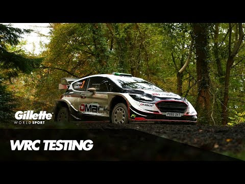 Test Driving Elite WRC Cars with Elfyn Evans | Gillette World Sport