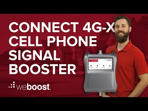 Connect 4G-X - Cell phone signal booster for your home or office | weBoost