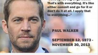 R.I.P Paul Walker Died In Car Crash Killed Dead