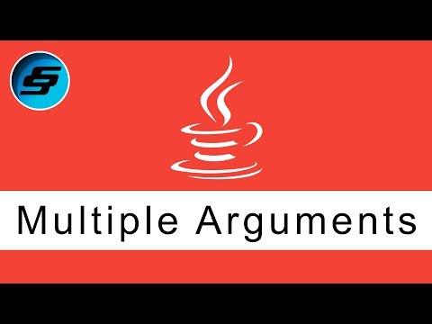 Multiple Arguments Simplified - Java Programming