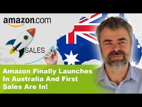 Amazon Finally Launches  In Australia And First Sales Are In!