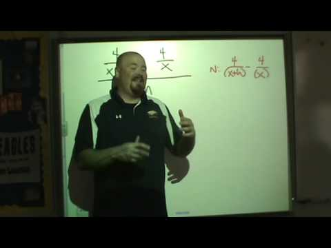 Difference quotient with rational function part1
