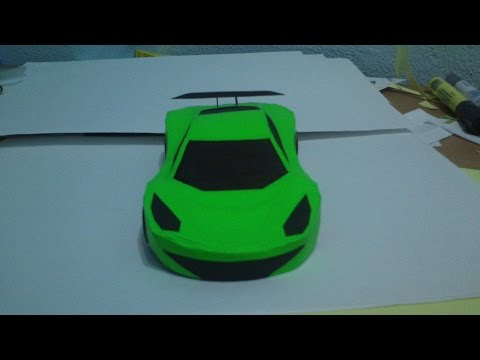 How To Make Simple Paper Car