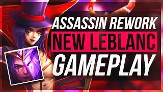LeBlanc After Rework Montage || League Of Alae
