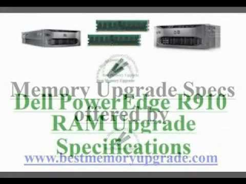 Compatible RAM Memory Upgrade Specifications of Dell PowerEdge R910 Server Computer System DDR3 1333