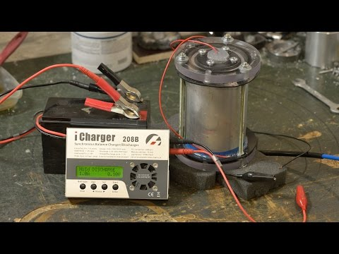 Kinetic Energy Storage System Test Run and FAIL