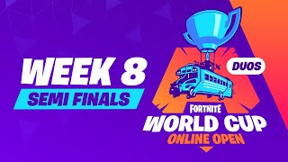 Fortnite World Cup - Week 8 Semi-Finals