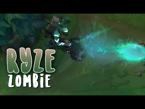 Ryze Zombie (Refonte) Aperçu Skin League of Legends
