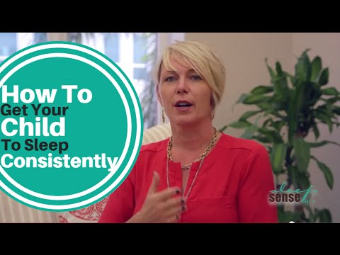 How To Get Your Child To Sleep Consistent Hours - Q&A With Dana