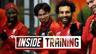 Inside Training Extended Behind the scenes Access From Minaminos First Day