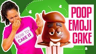 How To Make Poop From The EMOJI MOVIE Out Of CAKE | Yolanda Gampp | How To Cake It