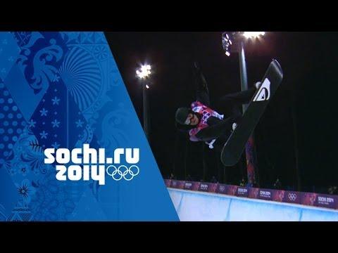 Iouri Podladtchikov's Scores 94.75 To Win Halfpipe Gold | Sochi 2014 Winter Olympics