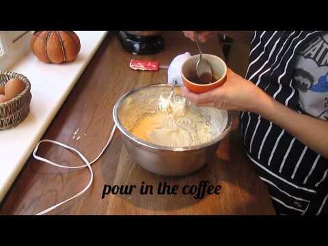 Simple Coffee Sponge Cake