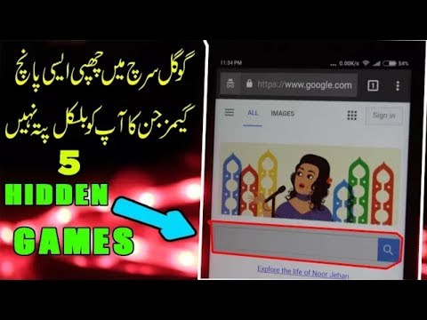5 Coolest Hidden Games in Google Search YOU MUST PLAY