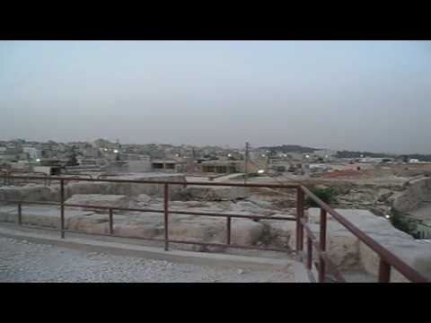 Adhan - Islamic call to prayer in Amman Jordan - beautifull mystic voice and panorama