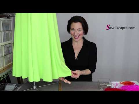 skirt length & layers for a competition ballroom dance dress