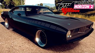 FORZA HORIZON 2 #72 | Plymouth Cuda Letty's Car  | Fast & Furious DLC