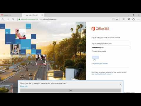 How to access One Drive in Outlook Web Access(OWA) in Microsoft Office 365?