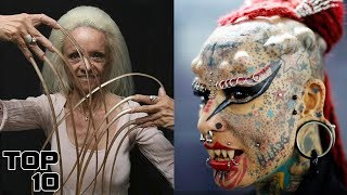 Top 10 Shocking Women You Won't Believe Exist - Part 2