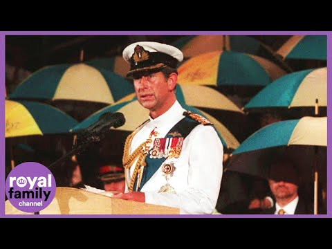 On This Day: 30 June 1997–Prince Charles Attends Hong Kong Handover Ceremony