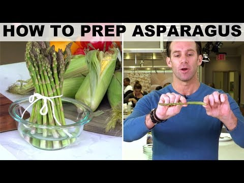 How to Prep Asparagus with James Briscione | Food Network