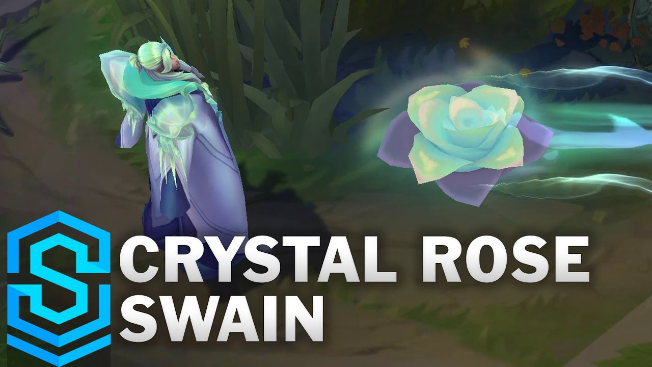 Crystal Rose Swain Skin Spotlight - Pre-Release - League of Legends