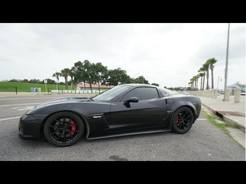 Drove a Z06 Now I want one - VLOG 04