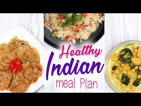 Healthy Indian Meal Plan to Lose Weight (Vegan / Vegetarian) | Joanna Soh