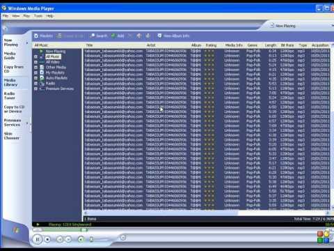 windows media plyar main song rename karna urdu