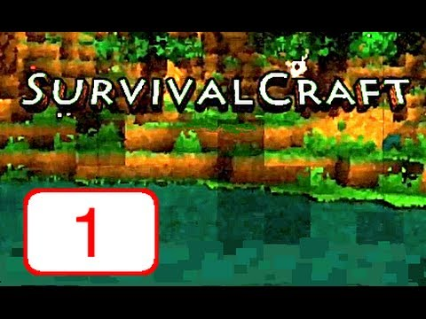 Let's Play: SurvivalCraft - Part 1 (Building Our Shelter)