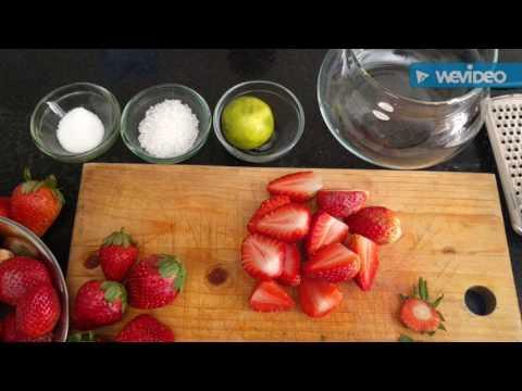 Macerated Strawberries