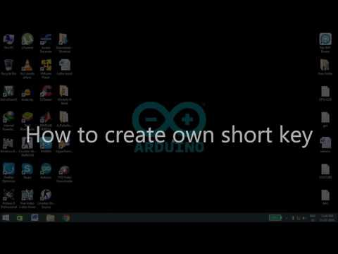 How to create your own Shortcut key in Windows PC.