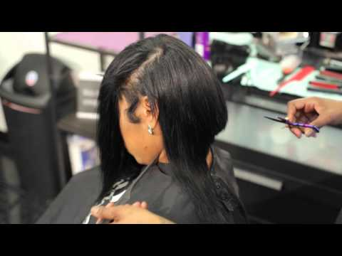 HOW TO CUT A DEEP PART BOB WITH LAYERS@CRAZYABOUTANGEL
