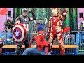 MY SUPERHERO BIRTHDAY Indoor Kids Playground Fun With Spider Man Captain America Iron Man And CKN