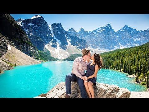 Wedding Videographer Canmore, Alberta, Canada. 4K